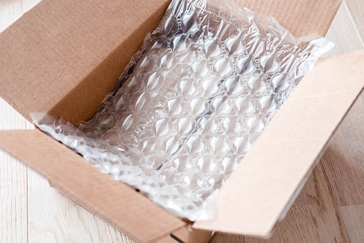Can Bubble Wrap Be Used for Soundproofing a cardboard box