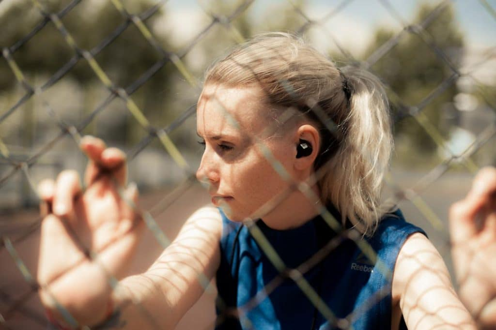 Tip #16 Sweatproof earbuds are designed to not fall off