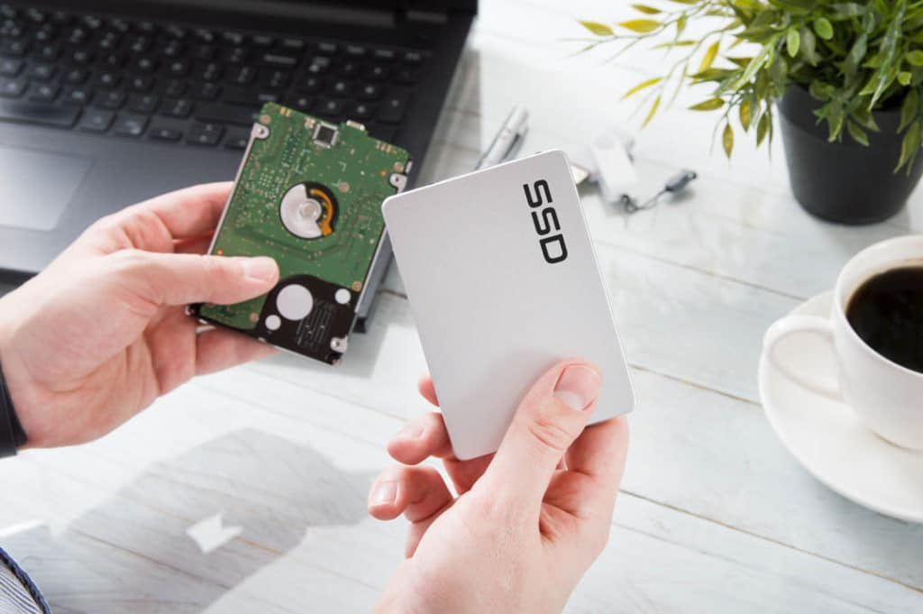 Use an SSD instead of an HDD to reduce loud fan noise