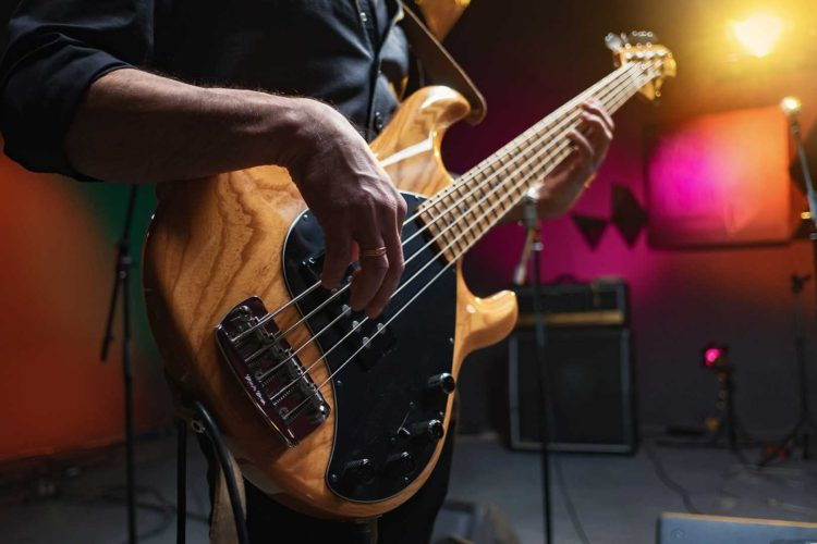 Options for tuning 5-string bass