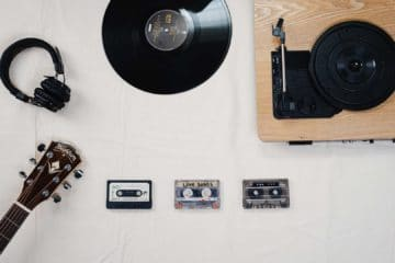 How do I record songs straight from a vinyl record to a cassette tape